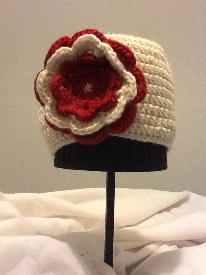 gorro crochet años 20